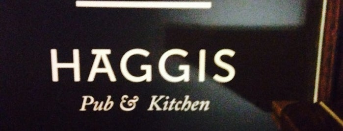 Haggis Pub & Kitchen is one of Список планов.