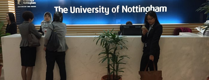 The University of Nottingham Teaching Centre is one of Learning Centers,MY #5.