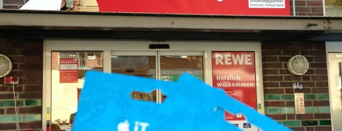 REWE is one of Supermarkets.