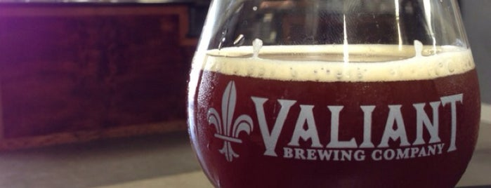 Valiant Brewing Company is one of LA & SD Breweries.