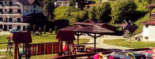 "Restaurant ""Cheile Grădiștei"" is one of Romania."