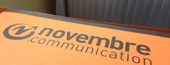 Novembre Communication is one of Bureaux à Paris.
