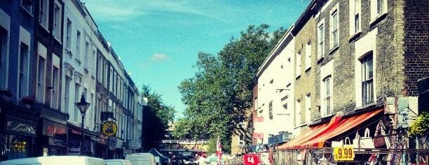 Portobello Road Market is one of London.