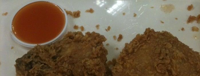 KFC is one of McDonald drive thru.