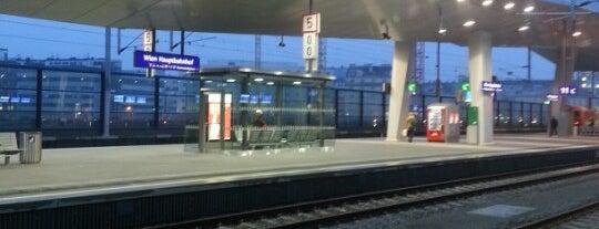 Wien Hauptbahnhof is one of Österreich.