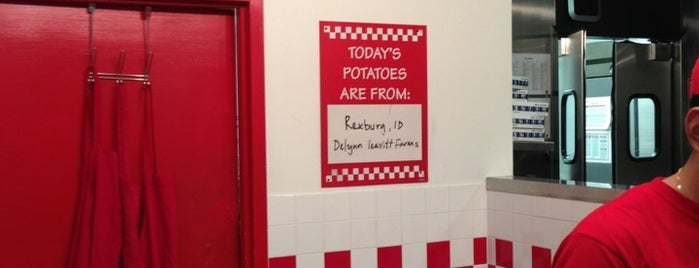 Five Guys is one of My NYC Favorite Eats.
