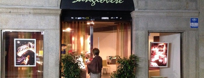 Sangiovese is one of Restaurants de Catalunya.