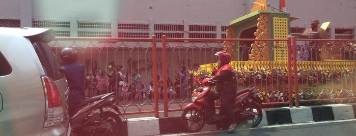 Surabaya is one of a.