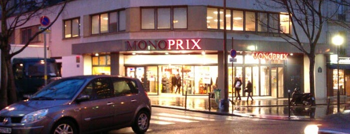 Monoprix is one of Paris, FR.