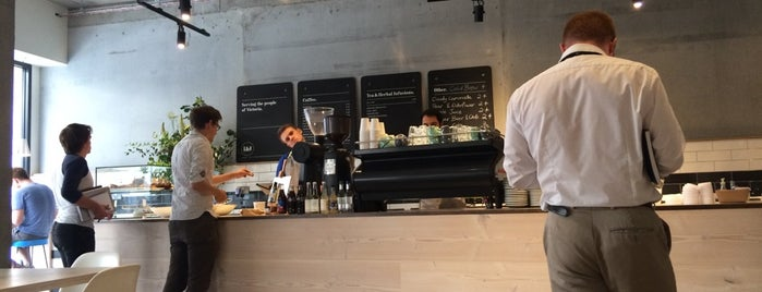 Iris & June is one of Specialty Coffee Shops Part 2 (London).