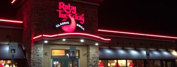 Ruby Tuesday is one of Ferris.