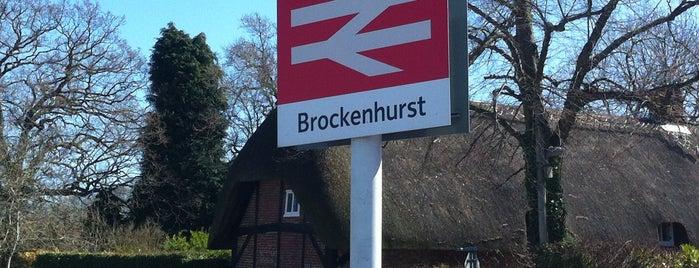 Brockenhurst Railway Station (BCU) is one of My favourite railway stations.