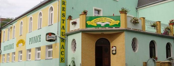 Sedlecká pivnice is one of Karlovy vary.