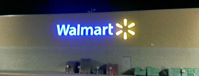 Walmart Supercenter is one of Places checked in too.
