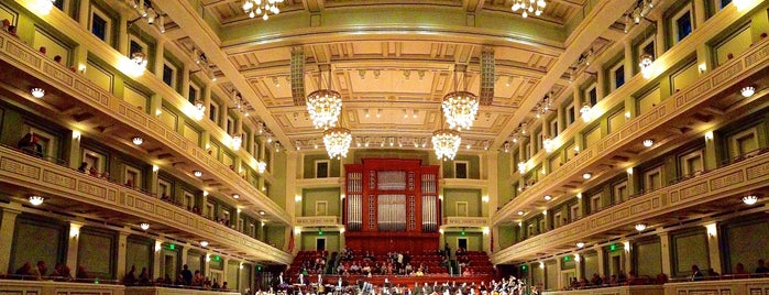 Schermerhorn Symphony Center is one of Places To Visit In Nashville.
