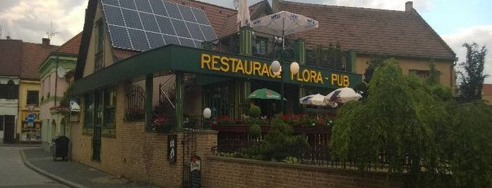 Flora Restaurace is one of Hospody.