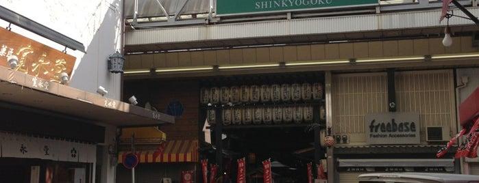 Shinkyogoku Shopping Street is one of Mall in Kyoto.