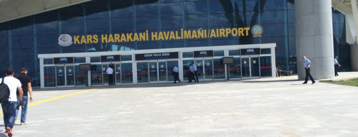 Kars Harakani Havalimanı (KSY) is one of Havalimanları.