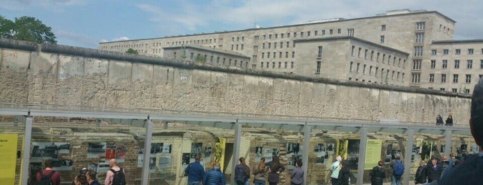 Topography of Terror is one of Travel Guide to Berlin.
