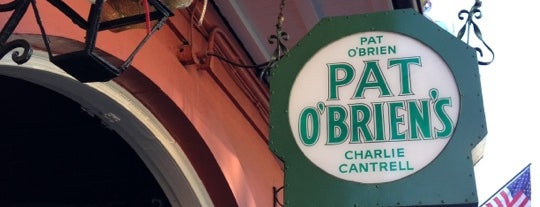 Pat O'Brien's is one of New Orleans/Lafayette.
