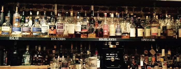 Milroy's is one of London bars.