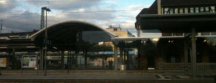 Worms Hauptbahnhof is one of Bahnhöfe DB.