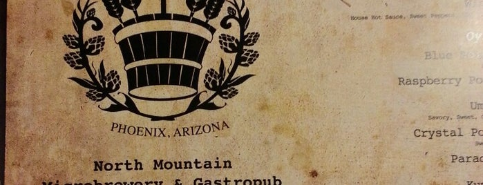 North Mountain Brewing Company is one of Phoenix Brewery Tour.