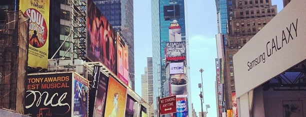 Times Square is one of New York City.
