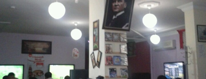 La Liga Playstation Cafe is one of AntaLya :)).