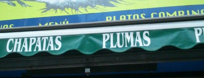 La Pluma is one of Málaga barrio.