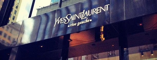 Saint Laurent is one of New York.