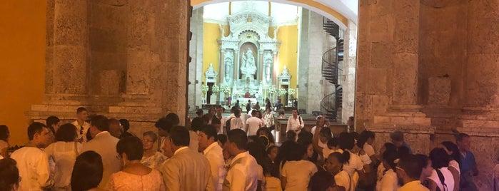 Iglesia Santo Domingo is one of Cartagena de Índias, Colombia.