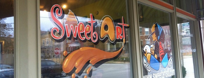 SweetArt is one of Coffee Time.