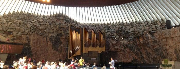 Temppeliaukio is one of Helsinki.
