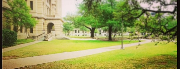 Academic Plaza is one of Aggie Traditions.