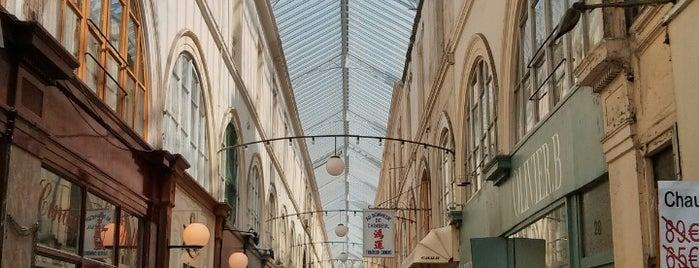 Passage Choiseul is one of Paris.