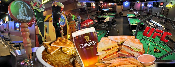 Maggie McGee's Sports Bar is one of GETAWAY SALT LAKE!.