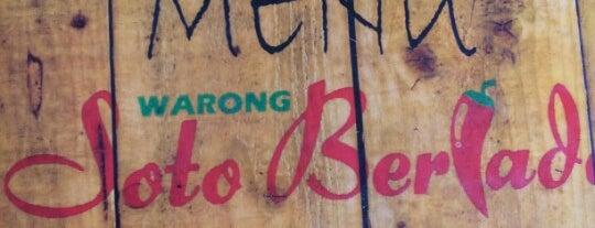 Warong Soto Berlado Mak Mah is one of Makan @ KL #1.