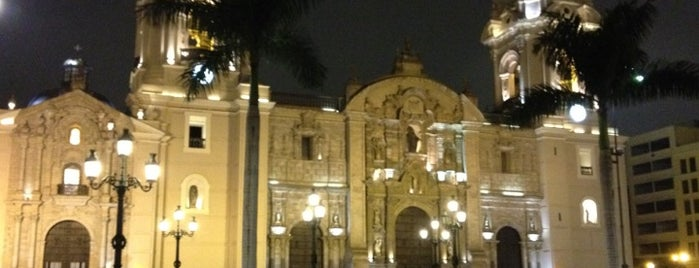 Plaza Mayor de Lima is one of All-time favorites in Peru.
