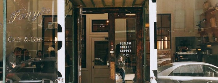 Ludlow Coffee Supply is one of NYC Coffee.