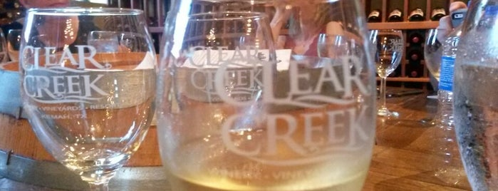 Tabella at Clear Creek Winery is one of Places to try.