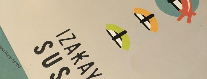 Izakaya Sushi is one of Approved Rest.
