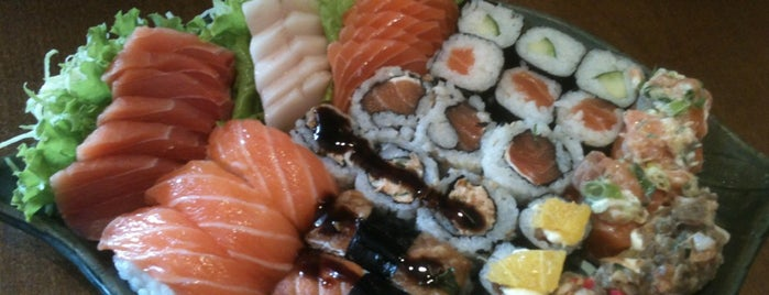 Hino Sushi is one of visitas.