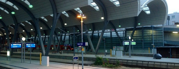 Kiel Hauptbahnhof is one of Bahnhöfe Deutschland.