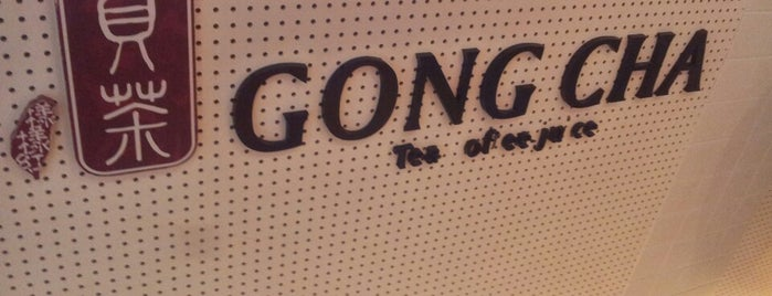 Gong Cha is one of 한국.