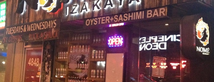 Nomé Izakaya is one of The 15 Best Places for Oysters in Toronto.