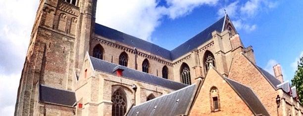 Sint-Salvatorskathedraal is one of Brugge, Belgio.