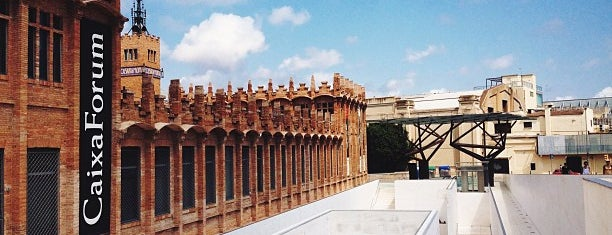CaixaForum Barcelona is one of Around Paral·lel.