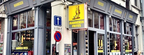 Manneken Frites is one of Brussels.