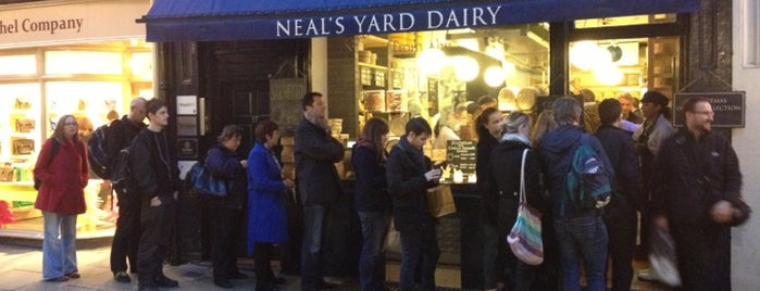 Neal's Yard Dairy is one of Around The World: London.